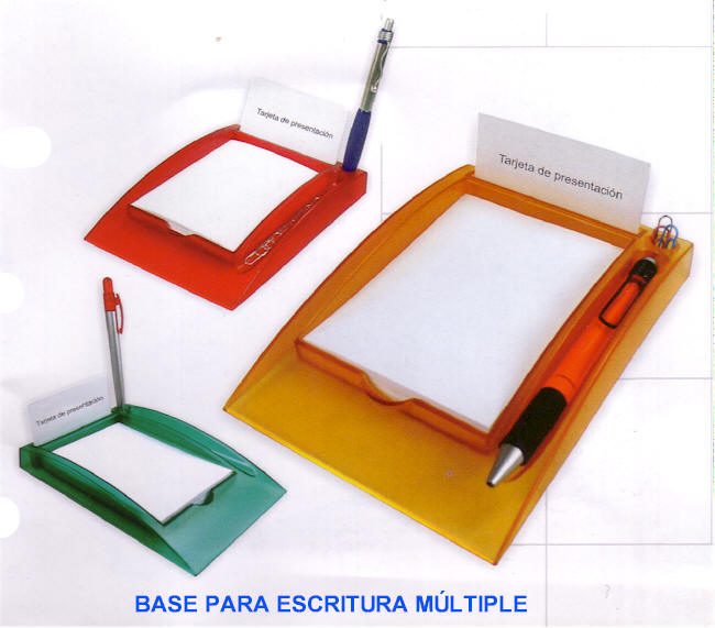 Base escritorio m ltiple porta retratos 2 en 1 anotador domo - Articulos de oficina ...